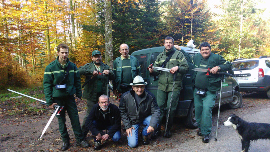 Gardes forestier - Mairie de Ventron